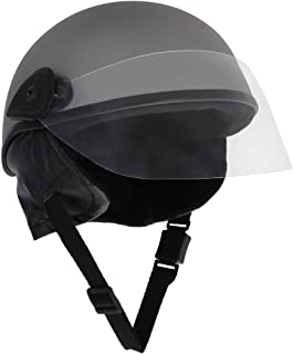 Sage Square Adjustable Junior Helmet for Kids Baby Safety and Comfort (3-12 Years) (Silver Matte)