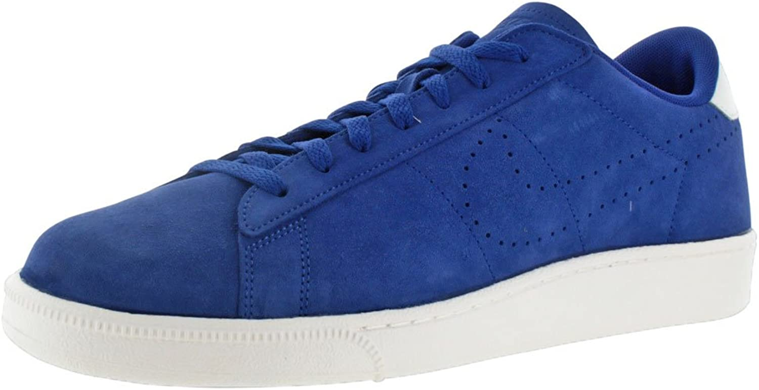NIKE Mens Tennis Classic CS Suede, Old Royal Old Royal-Ivory, 9.5 M US