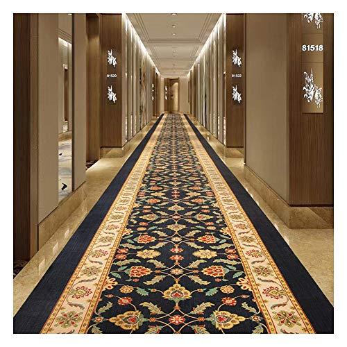 Alfombra Alfombra de rollo largo Salón Foyer Alfombra de escalera de pasillo de hotel europeo A prueba de polvo antideslizante Las mantas personalizables son hermosas y asequibles Cocina Sala Estar Do