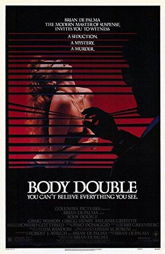 BODY DOUBLE (1984) Original Authentic Movie Poster - 27x41 One Sheet - Single-Sided - FOLDED - Craig Watson - Melanie Griffith - Gregg Henry - Deborah Shelton