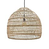 Wylolik Bamboo Art Ceiling Light DIY Bamboo Rattan Pendant Lamp Industrial Vintage Japanese-Style Hanging Lamp Teahouse Dining Room Droplight Lighting Fixture, E27 (Color : A)