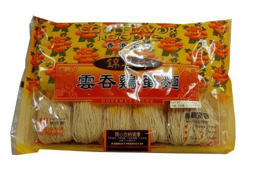 錦華坊 香港たまご麺 454g