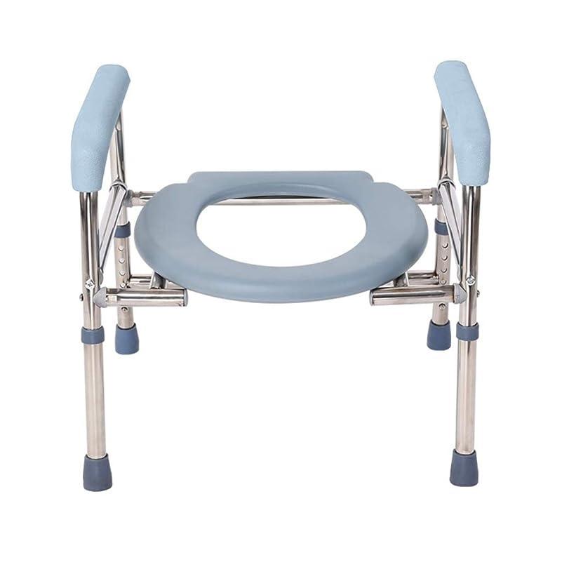活気づく容器副詞在宅ケアの便器チェア、痩身トイレ、携帯用トイレ、上げられた便座、大人のしゃがんだ椅子