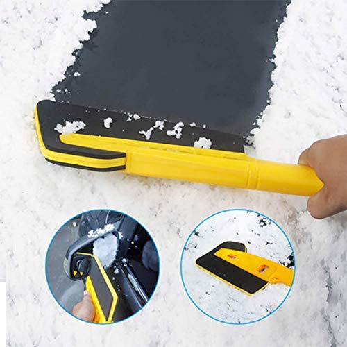 RUIX Eiskratzer Und Schneebürste Mehrfunktionales Schneeräumungs Schaufel