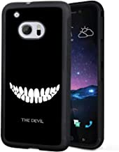 HTC 10 The Devil Phone Case ChyFS Diztronic Full Matte Soft Touch Slim-Fit Flexible TPU Protective Case for HTC 10