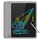 TECBOSS LCD Writing Tablet Colorful Large Screen, 11 Inch Kids Electronic Digital Drawing Board Doodle Pads, Educational Toys for 2-6 Years Old Boy and Girls (Grey)