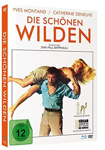 Die schönen Wilden - Limited Mediabook (+DVD/in HD neu abgetastet) [Blu-ray]