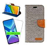 LJSM Case + Tempered Film Glass for Cubot Max 2 (6.8