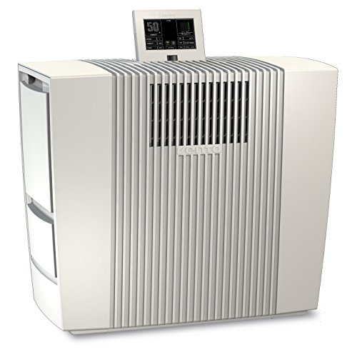Venta Luftwäscher App Control LPH60 WiFi Hybrid, Luftbefeuchtung und Luftreinigung für Räume bis 95 qm, Weiß
