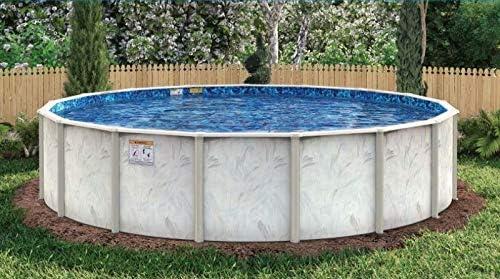 Under the Sun Pool 27 Ft Round H Inch Max 67% OFF Galvaniz Above Ground x 52 price