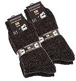 4pares de muy gruesa y cálida lana calcetines, calcetines de invierno de Noruega Gris mezcla de gris 39-42