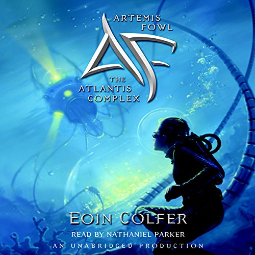 The Atlantis Complex audiobook cover art