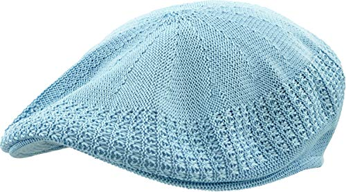 KBETHOS KBM-001 Sky M Classic Mesh Newsboy Ivy Cap Hat (21 Colors / 4 Sizes)