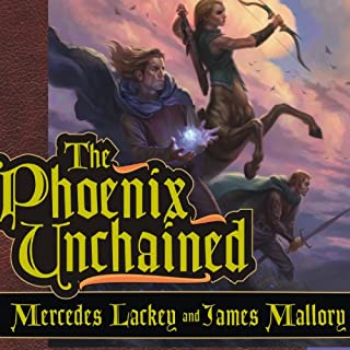 The Phoenix Unchained audiobook cover art