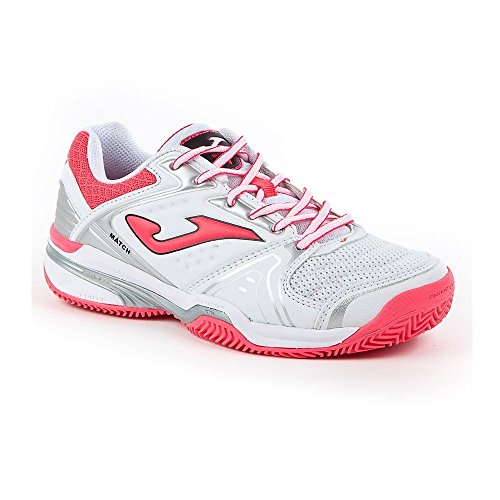 ZAPATILLAS JOMA T.MATCH LADY 702 BLANCO CLAY