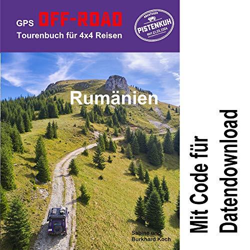 GPS-Offroad-Tourenbuch Rumänien 36 Routen incl. Code für Datendownload mit Tracks fürs Navi