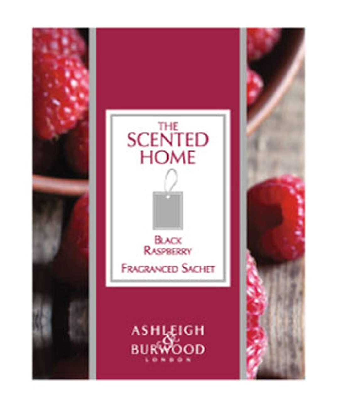 過言ファイアルトレードアシュレイ&バーウッド(Ashleigh&Burwood) Ashleigh&Burwood サシェ ブラックラズベリー Sachet Black BlackRasberry アシュレイ&バーウッド 105㎜×80㎜×5mm/3個