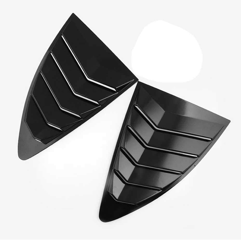 100% quality warranty! Charlotte Mall MPOQZI Car Rear Panel Side Vent Fit 86 for Toyota Louver Window