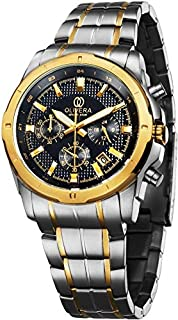 Olivera OGS712-BLACK/GOLD Watch For Men