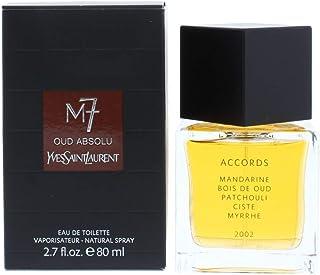 YSL M-7 Oud Absolu Eau de Toilette Spray for Men, 2.7 Ounce