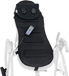 Teeter Better Back Vibration Massage Cushion with Neck Support – Accessory for Inversion Table