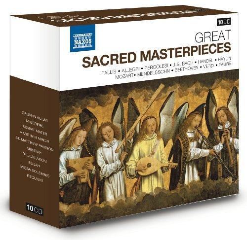 Große Geistliche Meisterwerke - Naxos Jubiläumsbox