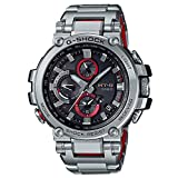 G-Shock By Casio Men's Analog MTGB1000D-1A Analog-Quartz Resin Watch Silver
