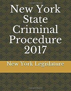 New York State Criminal Procedure 2017