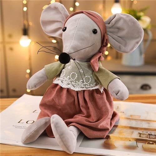 Kawaii Ballet Mouse Knuffels Gevulde Zachte Dier Muis Pop Voor Kinderen Kinderen Slapen Speelgoed Mooie Kerstcadeau 42 Cm G