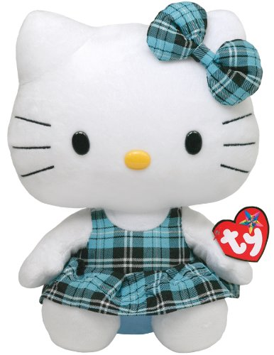 TY 90112 - Hello Kitty Large-Schottenrock blau