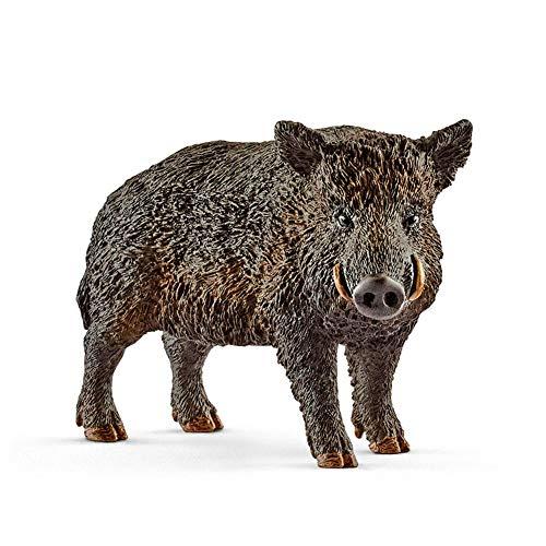 Wildschwein Figuren Spielzeug PVC Dschungel Waldtiere Figuren Miniatur Tierfigur 2,8 Zoll