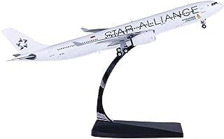 1/400レシオシンガポール「エアバスA330-300」完成プラモデル、金属飛行機モデル玩具