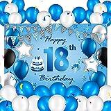 Heyu-Lotus Glücklich 18. Geburtstagsfeier Dekoration,