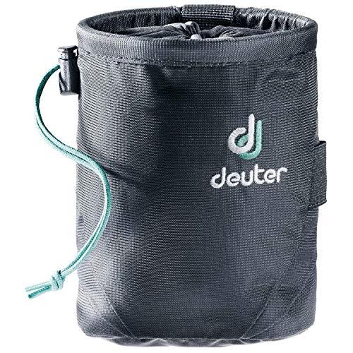 deuter Unisex-Adult Gravity Chalk Bag I M Kletterkreide, Black, 15 x 11 x 11 cm