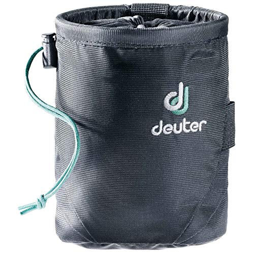 Deuter Unisex-Adult Gravity Chalk Bag I M Kletterkreide, Black, 15 x 11 x 11 cm