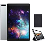MOXNICE P63 10.1 Inch Android Tablet with Tablet Case, Octa-Core Tablet, Android 9.0 Pie, 3GB RAM, 32GB ROM, IPS Full HD1920x1200 Display, 5G WiFi, Frosted Metal Body (Silver)