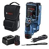 Bosch Professional 12V System Detector D-tect 200 C (2 baterías 12V, detección de cables, tuberías de metal y plástico, pernos y cavidades; cable USB-C™, L-BOXX) - Amazon Exclusive Set