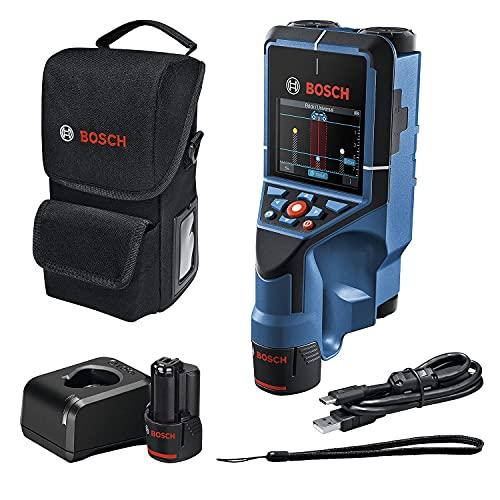 Bosch Professional 12 V System Detector D-Tect 200 C, 2 Baterías 12...