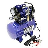 メルテック ミニエアーコンプレッサー(自動車/バイク/自転車) 最高圧力:800kPa DC12V(クリップ) Meltec FT-35P
