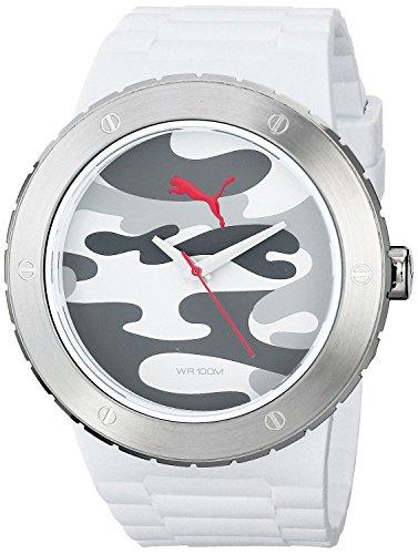 Puma Herren-Armbanduhr XL Blast L Analog Quarz Resin PU103331004