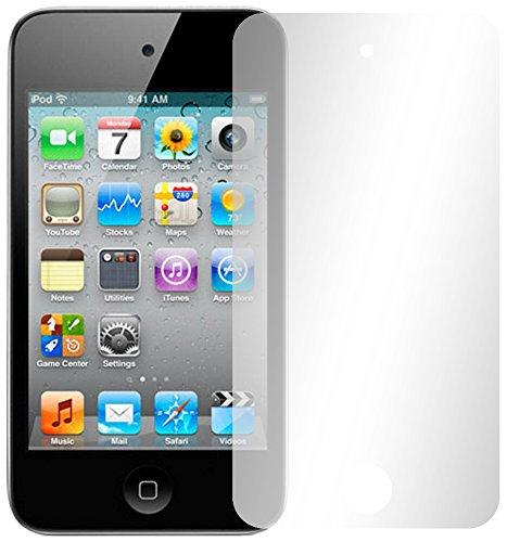 Slabo 2 x Displayschutzfolie für iPod Touch 4G | Touch 4 Displayschutz Schutzfolie Folie Crystal Clear unsichtbar Apple iPod Touch 4 MADE IN GERMANY