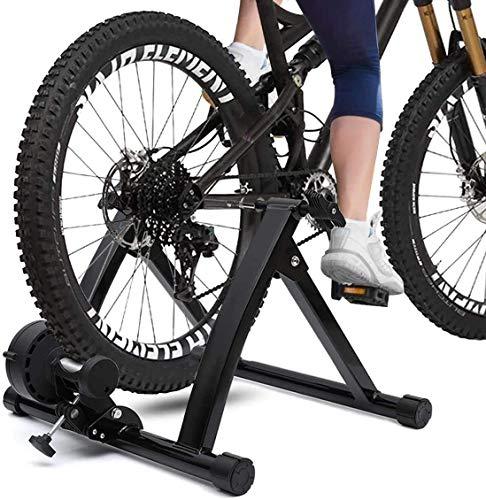 ZHANGYY Soporte Fluido para Entrenador de Bicicleta, 6 velocidades, Resistencia magnética, Entrenador...