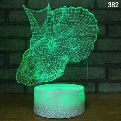Dinosaurio de dibujos animados Fly Dragon Monster Animal 3D Lámpara de mesa Luz nocturna Creativo Led Regalo Encantador Lindo juguetes para niños Decoración