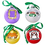 Paladone Friends Ornaments, Christmas Decorations, Set of 4
