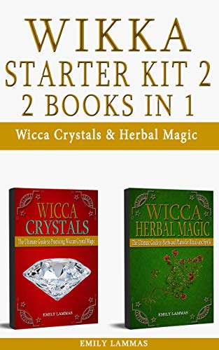 WICCA STARTER KIT 2: Wicca Crystals & Herbal Magic (English Edition)