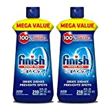 Finish Jet-Dry Rinse Aid, Dishwasher Rinse Agent & Drying Agent 23 oz (2 Pack)