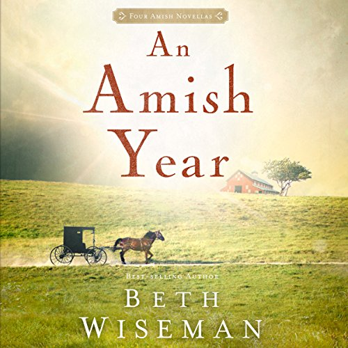 An Amish Year audiobook cover art