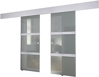 vidaXL Puerta Corredera Deslizante Moderna Salón Doble