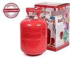 Falkenheyn Gratis Bügelpatch mit PartyFactory Heliumgasflasche Heliumgas für ca. 100 Ballons Helium Flasche Gasflasche Balloon Gas Ballongas Einweg Set (für ca. 100 Ballons)
