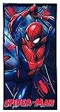 Spiderman Toalla Playa Microfibra Marvel 70x140cm ET4214 Negro